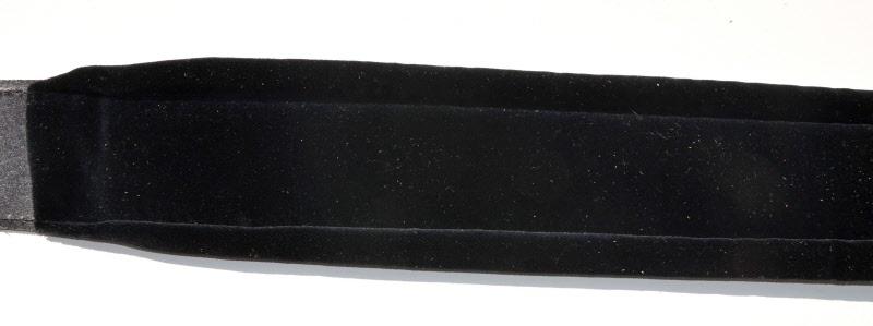XL Blue Bud Leder POLSTER-GITARRENGURT Baumwollsamt